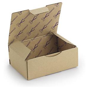 Caja personalizada marrón