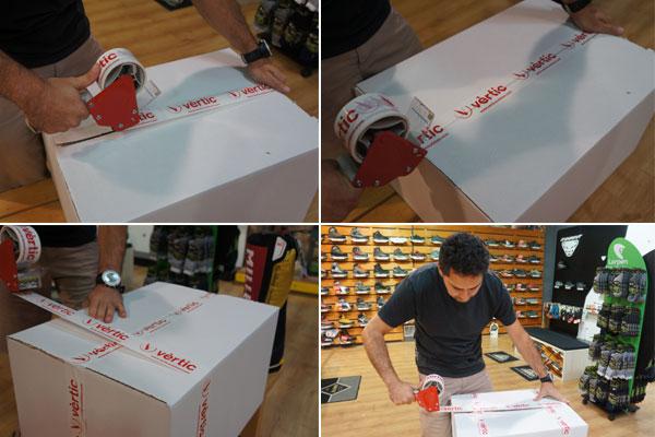 Tiendas Vertic cintas adhesivas personalizadas