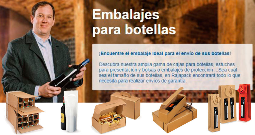 embalajes botellas