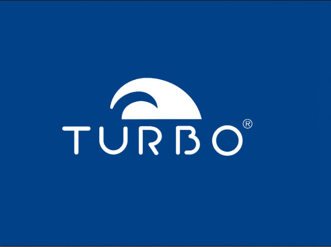 logo turbo azul