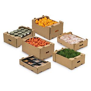 Bandejas de cartón para mantener productos frescos