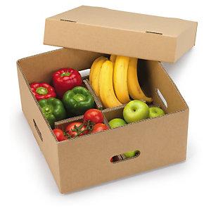 Embalaje para envíos de comida con separadores