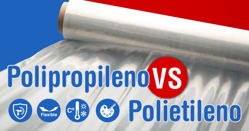 Diferencias entre el polipropileno y el polietileno