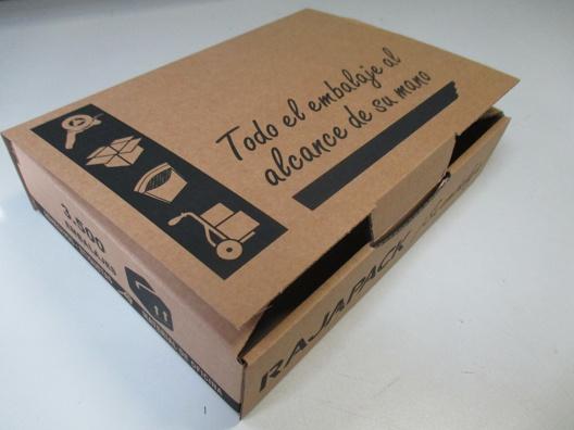 caja cartón personalizable - Rajapack