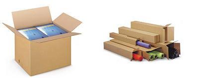 Cajas de cartón ecológico