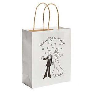 bolsa de papel para bodas