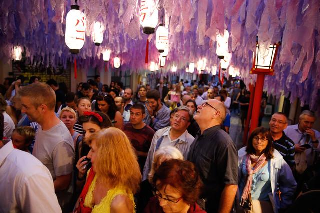 Barcelona 15/08/2015 Fiestas de Gracia. Foto : Alvaro Monge