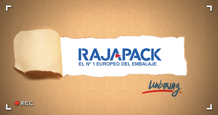 Unboxing en Youtube por Rajapack