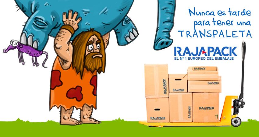 Nunca es tarde para tener una transpaleta manual de Rajapack