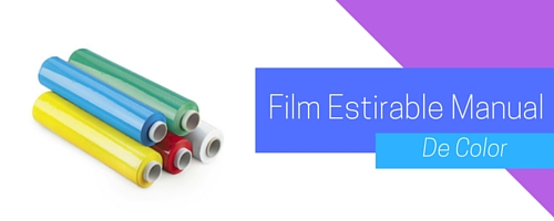 Film Estirable Manual Color