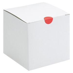 Caja blanca de cartón fino 12x8x7 cm de Rajapack