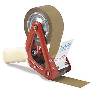 Dispensador de cinta adhesiva resistente Rajapack