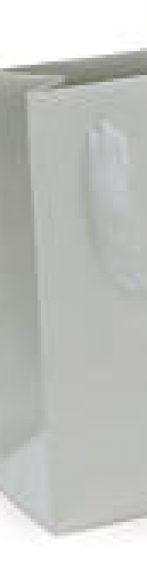 bolsa de papel charol con asas de organdí