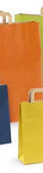 bolsa kraft de colores