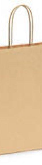 bolsa kraft pequeña marron o blanca