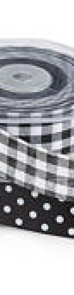 lazo blanco y negro