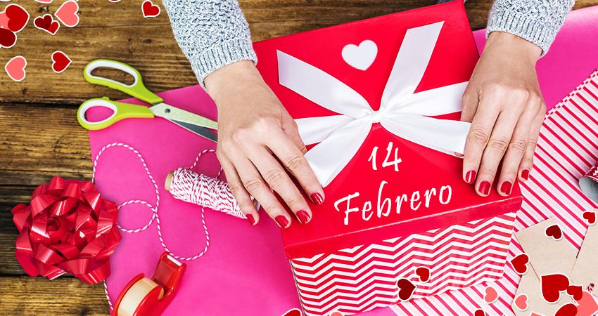 Embalaje para comercio en San Valentín 2017