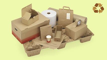 Productos ecoresponsables de Rajapack