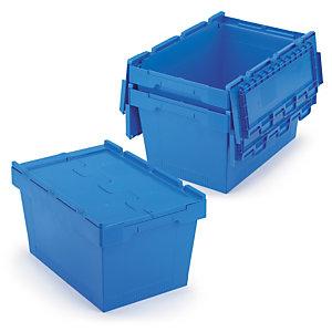 Contenedores de plástico para embalajes