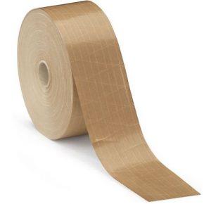 papel engomado reforzado