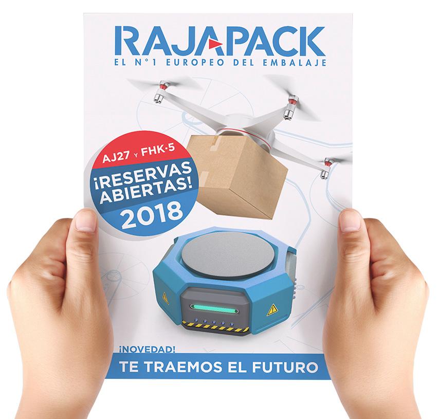 Raja-Dron y Raja-Robot: reservas abiertas