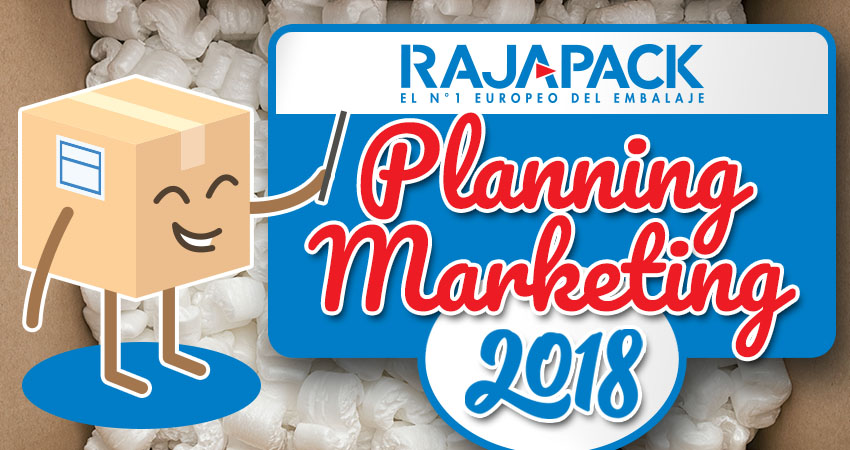 Calendario Marketing 2018 de Rajapack