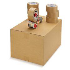 Cinta adhesiva de papel kraft: ecológica y personalizable
