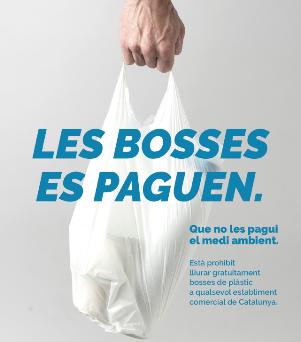 Cartel promocional del Pacto por la Bolsa en Cataluña