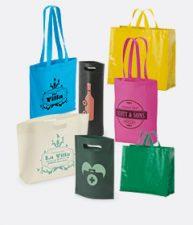 Bolsas personalizadas: personalización de bolsas de polipropileno, algodón o rafia