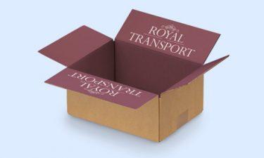 Cajas personalizadas: personalizar el interior de las cajas con un mensaje impreso