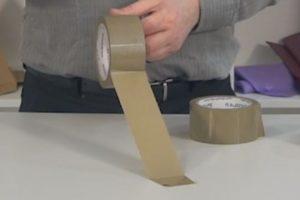 Truco diferenciar cinta de PVC y polipropileno