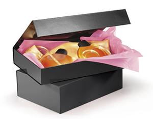 Caja de regalo cierre imán en color negro