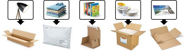 Embalajes para tiendas online