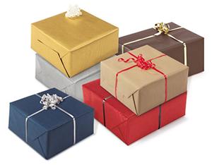Papel de regalo kraft