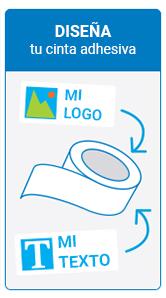 Paso 2 personalización de cintas adhesivas
