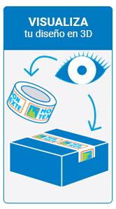Paso 3 personalización de cintas adhesivas