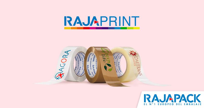 Simulador online para crear tu cinta adhesiva personalizada con Rajapack