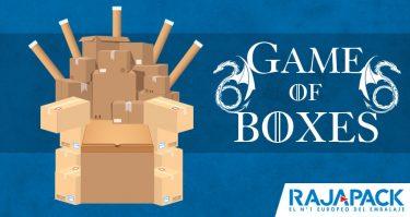Rajapack lanza una línea de productos de embalaje inspirada en Juego de Tronos
