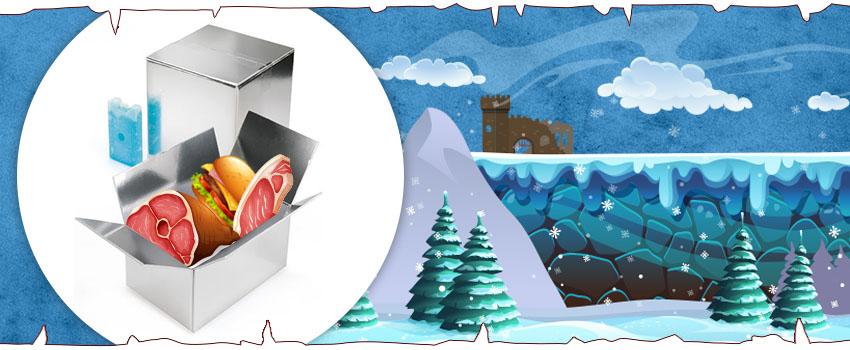 Embalaje inspirado en Juego de Tronos: cajas isotérmicas
