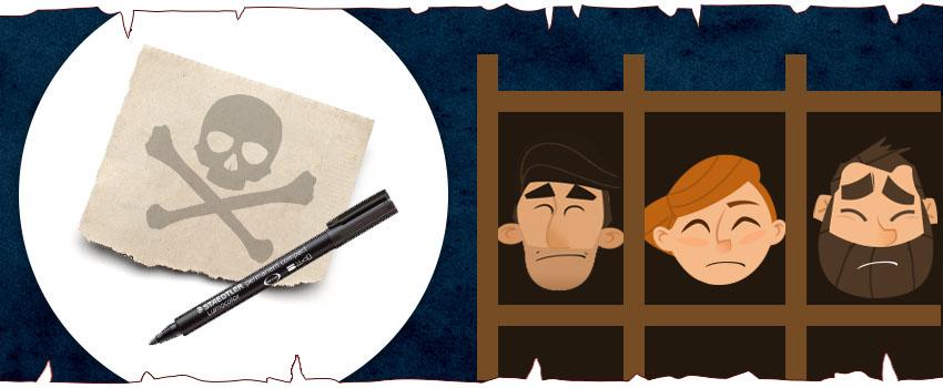 Embalaje inspirado en Juego de Tronos: material de oficina para la lista de Arya Stark