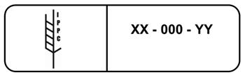 Sistema de marcado de los embalajes de madera según la NIMF-15