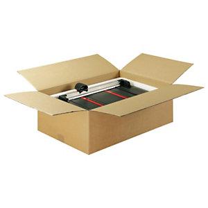 Sistemas de cierre para cajas de cartón: solapas en caja americana
