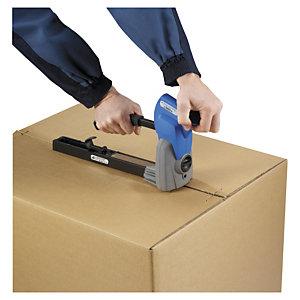 Grapadora industrial para el cierre de cajas de cartón
