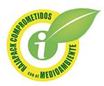 Rajapack comprometidos con el medioambiente logo - Símbolo etiqueta