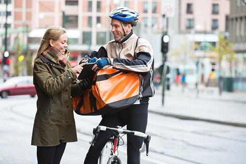 Logística de última milla en e-commerce: reparto en bicicleta