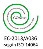 Certificado CO2zero de Raja