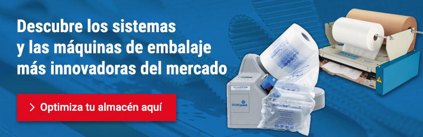 Sistemas y máquinas de embalaje en RAJA®